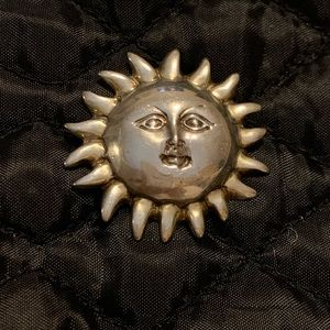 Silver pendant from Mexico